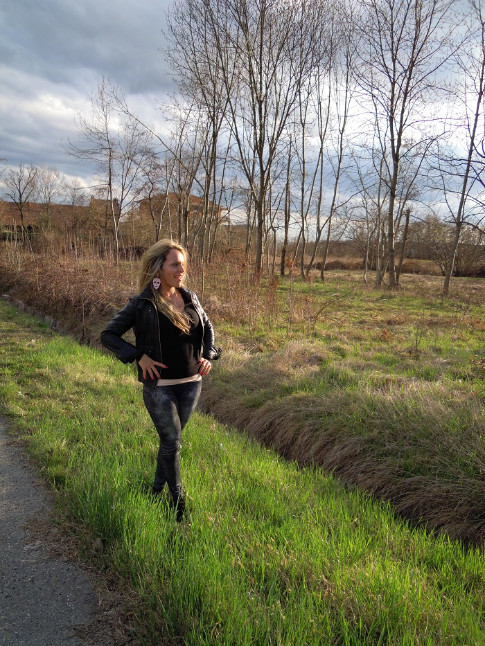 it girl by Elonora Petrella - Spring is coming