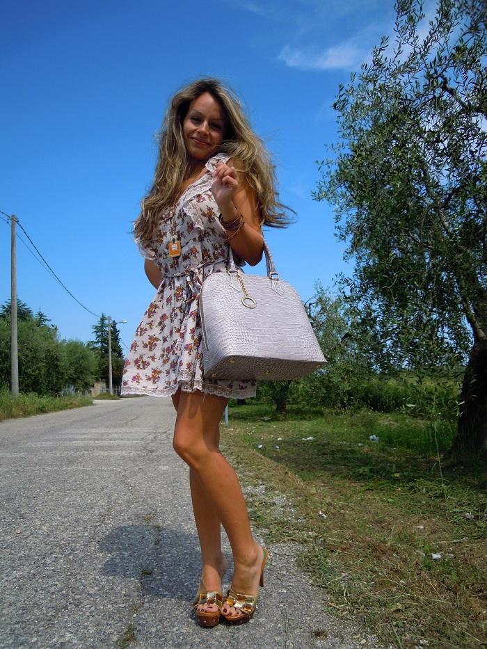 foto vestito a fiori