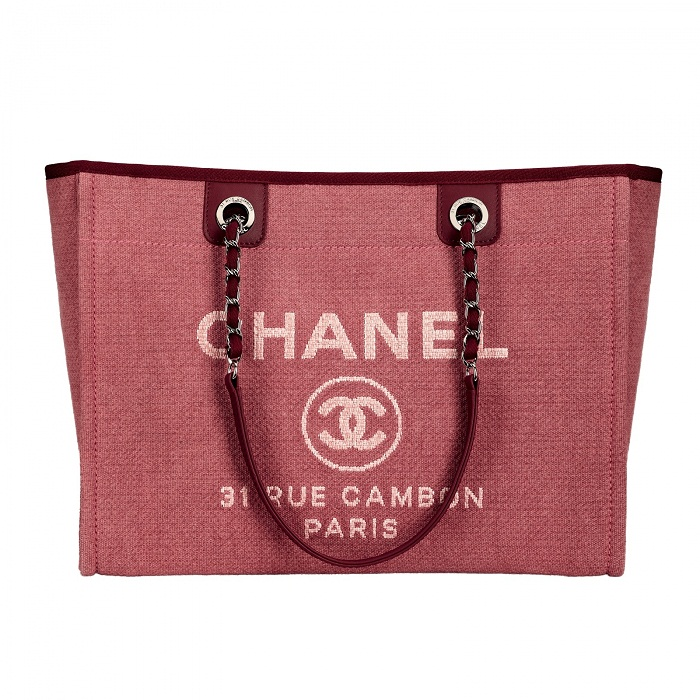 Chanel Cabas Eté canvas tote bag