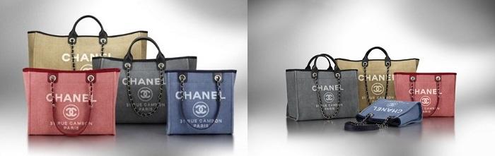 Chanel Cabas Eté canvas tote bag