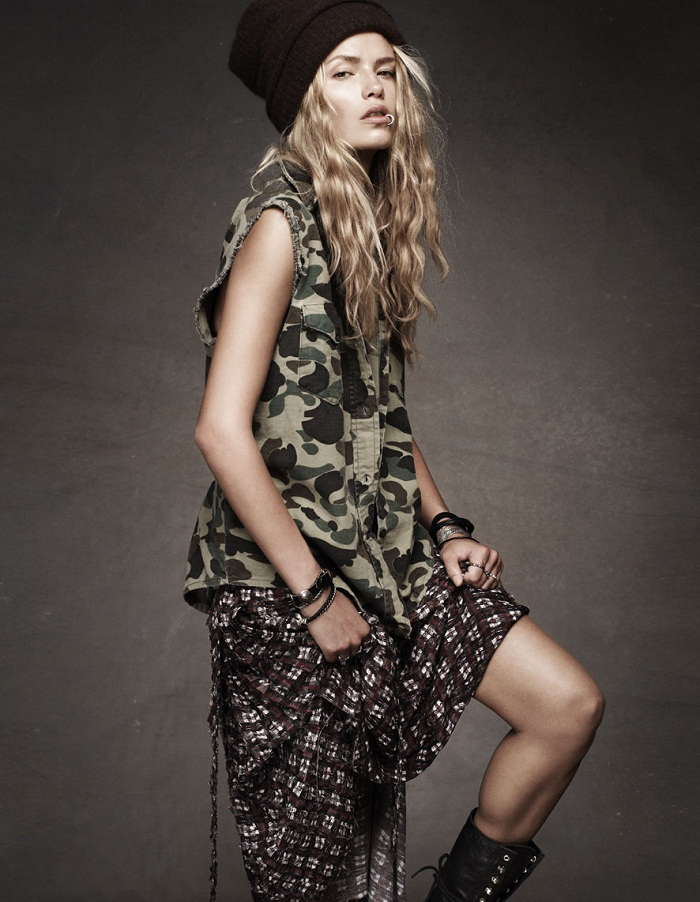 trend camouflage 2012