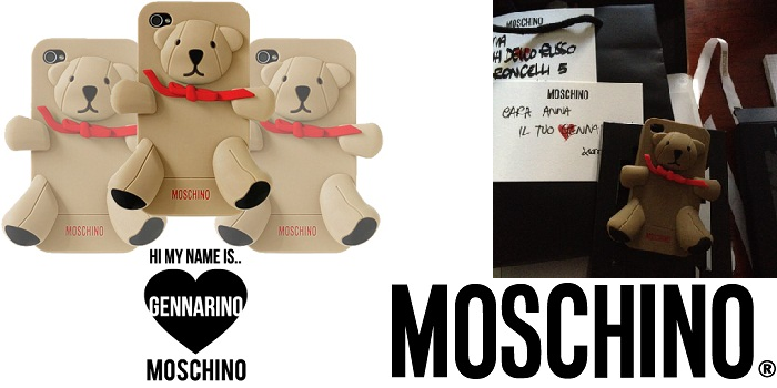 Gennarino Iphone case di Moschino - It-Girl by Eleonora Petrella