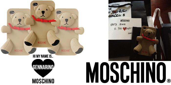 Gennarino Iphone case di Moschino - It-Girl by Eleonora Petrella