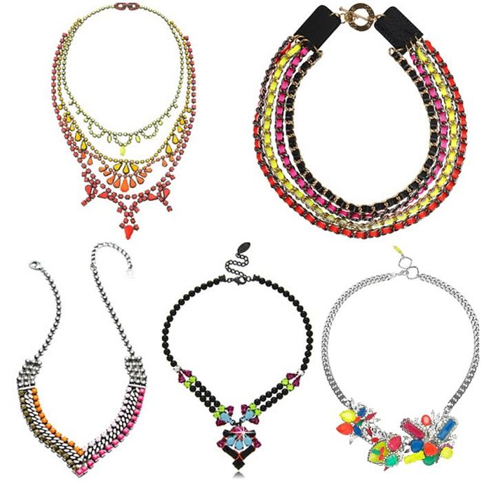 statement necklace - It-girl by Eleonora Petrella
