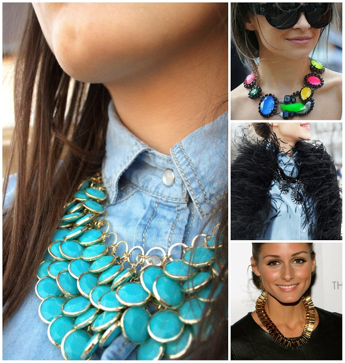 statement necklace - It-girl by Eleonora Petrella