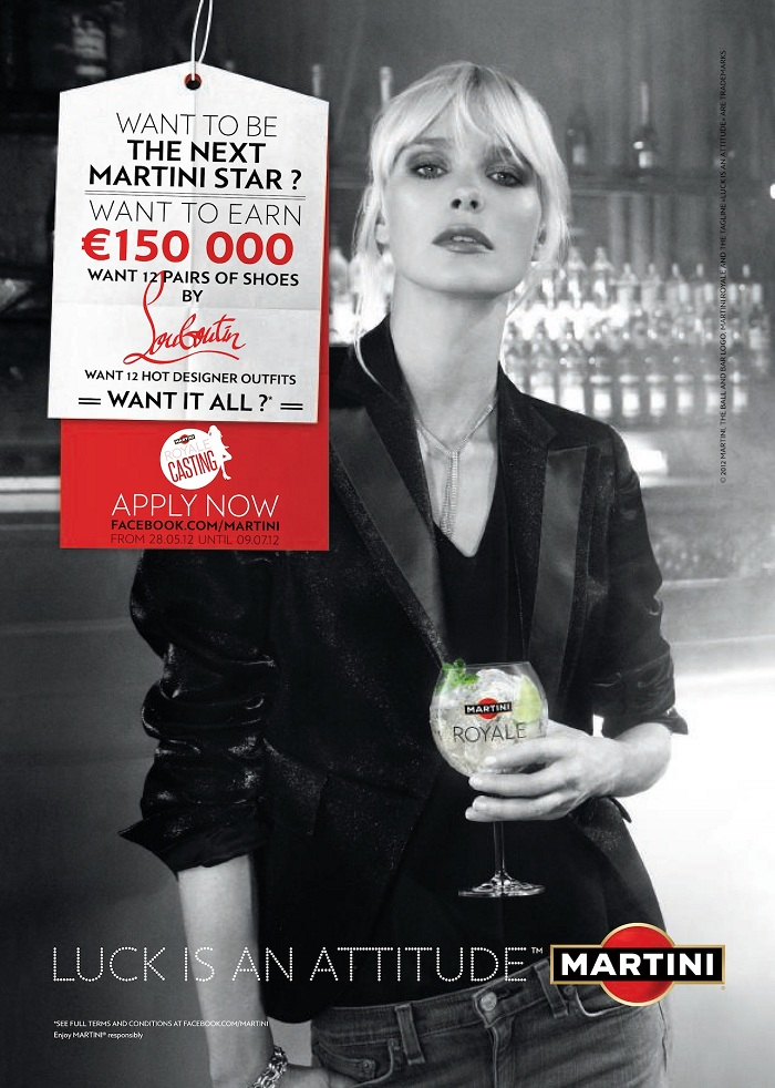 Casting martini royale