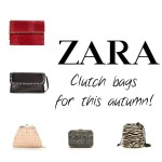 Zara clutches for A/W 2012