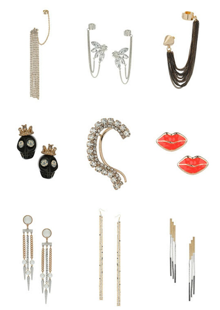topshop jewellery for A/W 2012-13 by It-Girl