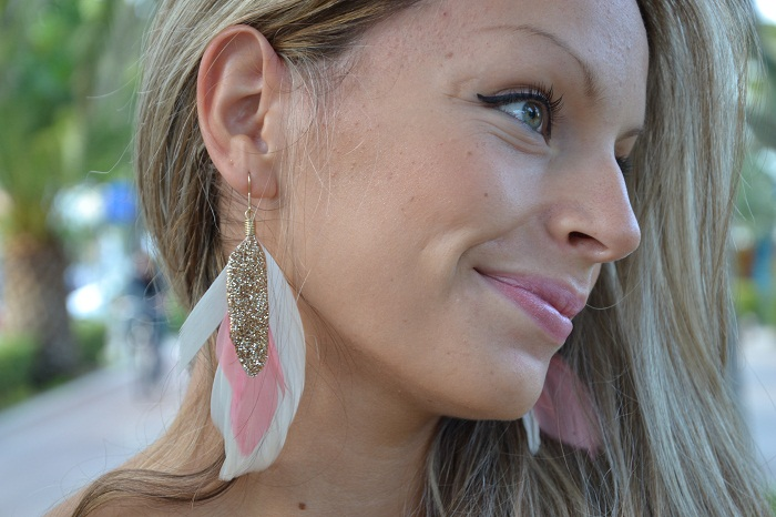 H&M earrings - It-girl by Eleonora Petrella