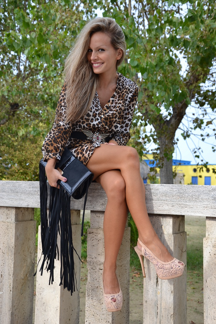 zara heels and elisabetta franchi bag - It-girl by Eleonora Petrella