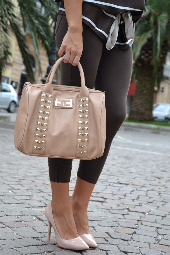 zara pumps and elisabetta franchi bag -It-girl by Eleonora Petrella