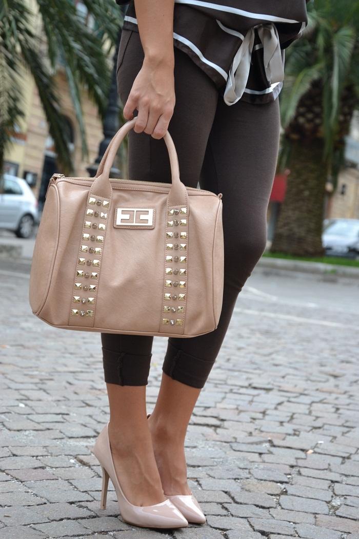 zara pumps and elisabetta franchi bag -It-girl by Eleonora Petrella