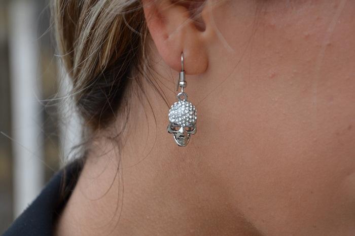 skull earrings - It-girl by Eleonora Petrella