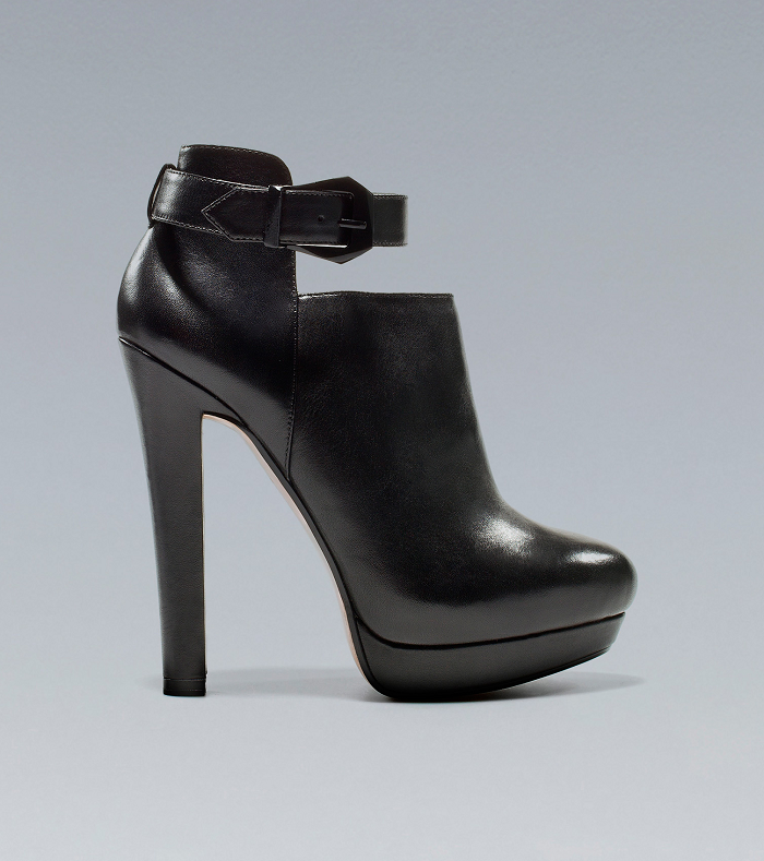Zara heels for A/I 2012 - It-Girl by Eleonora Petrella