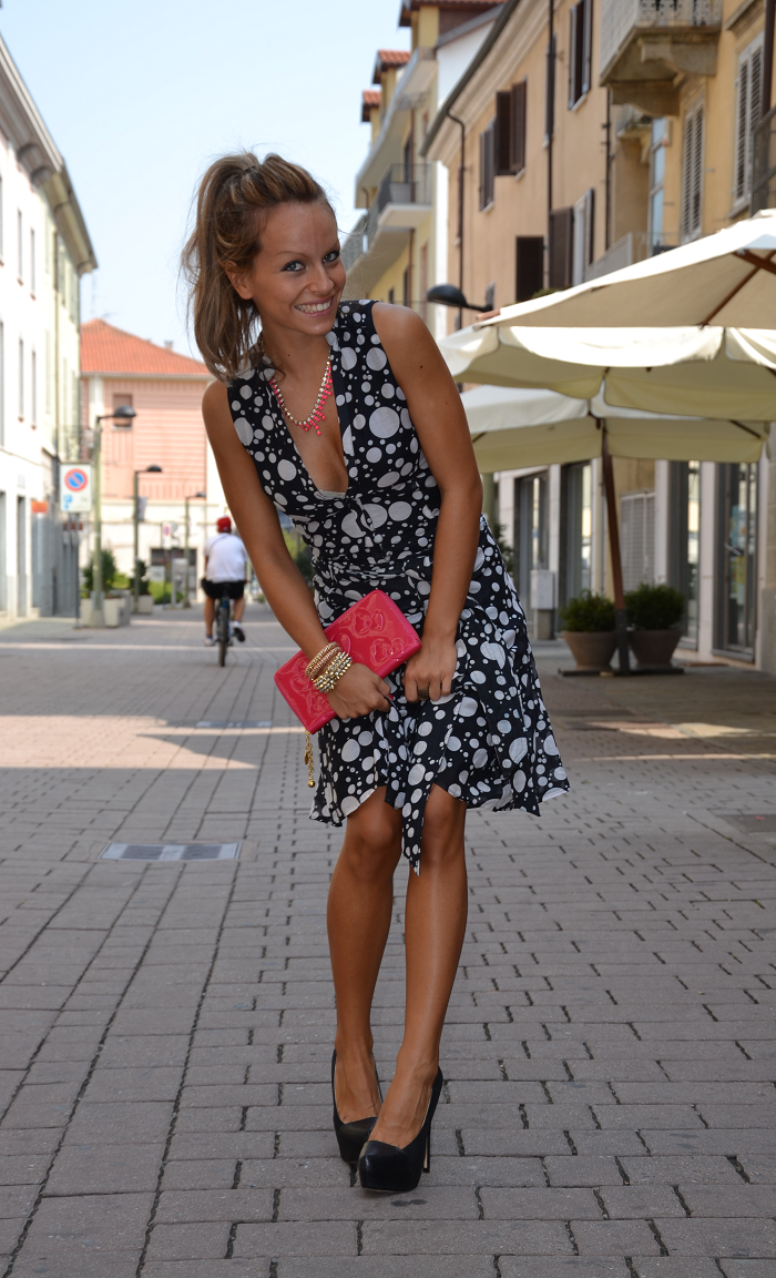 Zara dress - it-girl by eleonora petrella