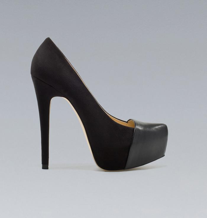 Zara heels for A/I 2012 - It-Girl by Eleonora Petrella