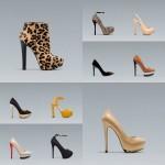 Zara heels for A/W 2012