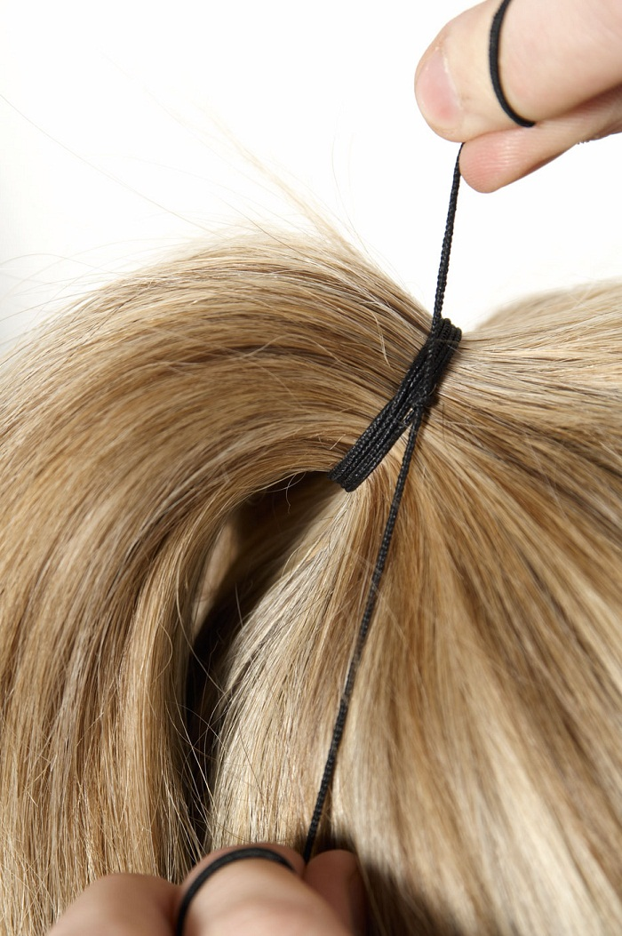 Sock bun and top knot - It-girl by Eleonora Petrella