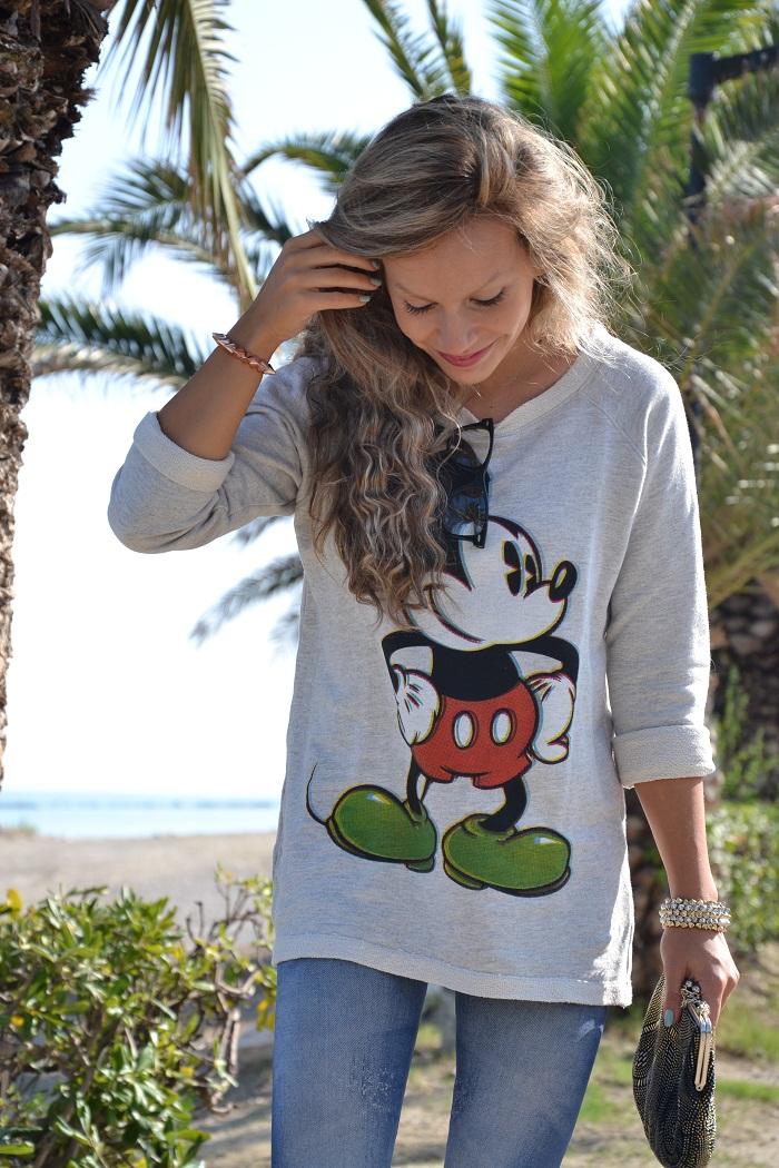 Mickey Mouse sweatshirt - It-girl by Eleonora Petrella