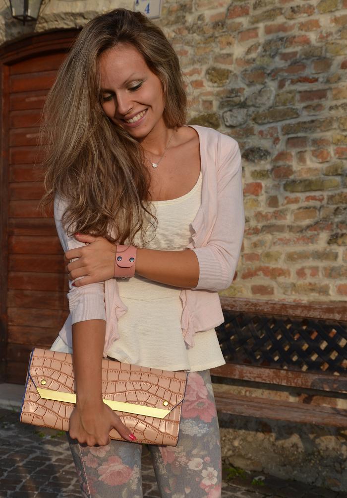 Peplum top and zara heels - It-girl by Eleonora Petrella