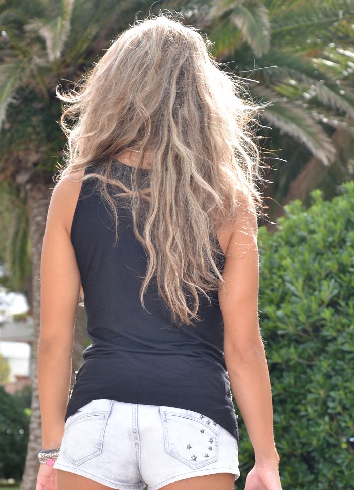 shorts and pinko tee - It-girl by Eleonora Petrella