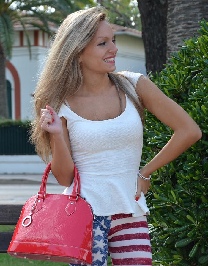 american leggins and peplum top - It-girl by Eleonora Petrella