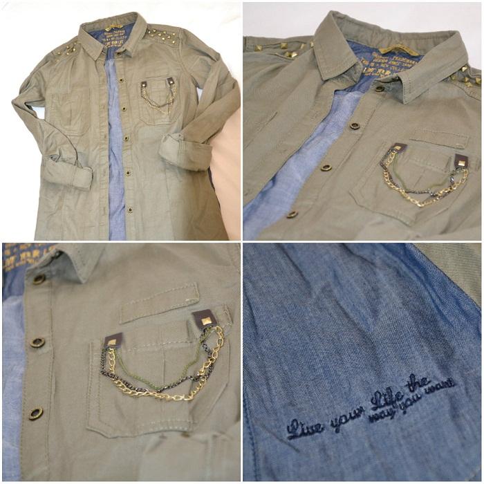 Military shirt - It-girl by Eleonora Petrella