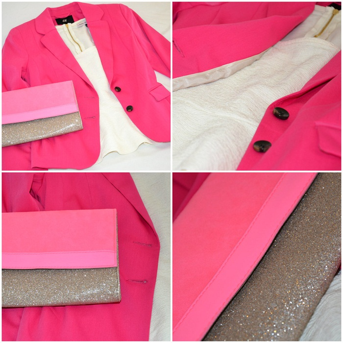 Pink blazer and pink clutch - It-girl by Eleonora Petrella