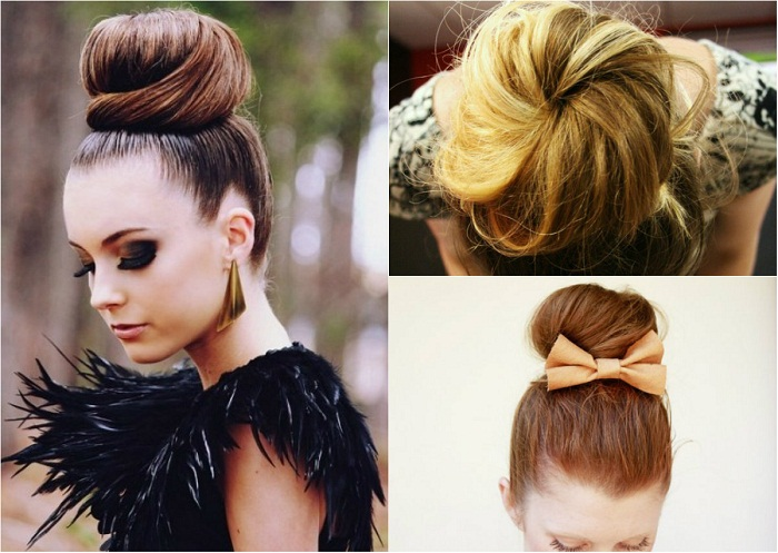 Sock bun and top knot - It-girl by Eleonora Petrella