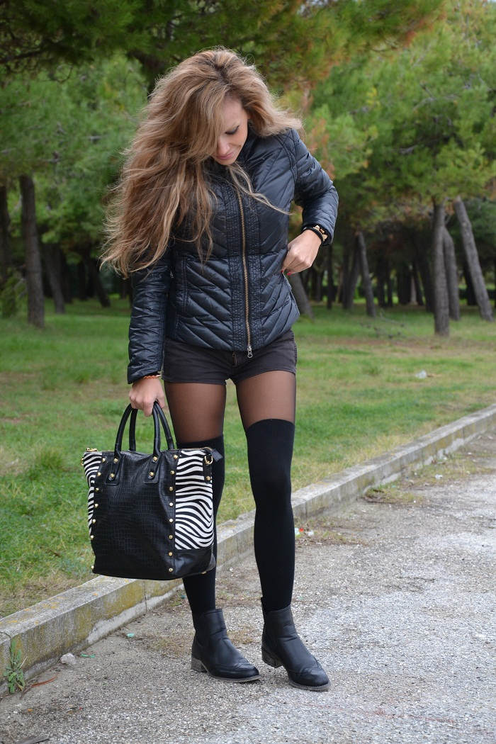 Arcadia bags and Armani coat - It-girl by Eleonora Petrella