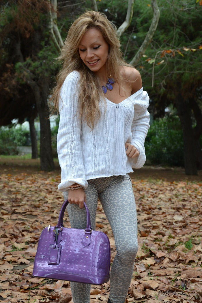 timberland boots and leopard leggins - It-Girl by Eleonora Petrella