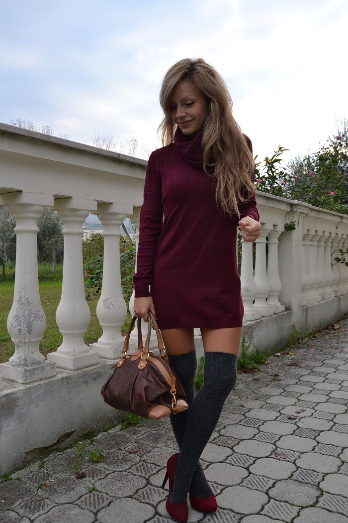 Burgundy trend F/W 2012-13 - It-girl by Eleonora Petrella