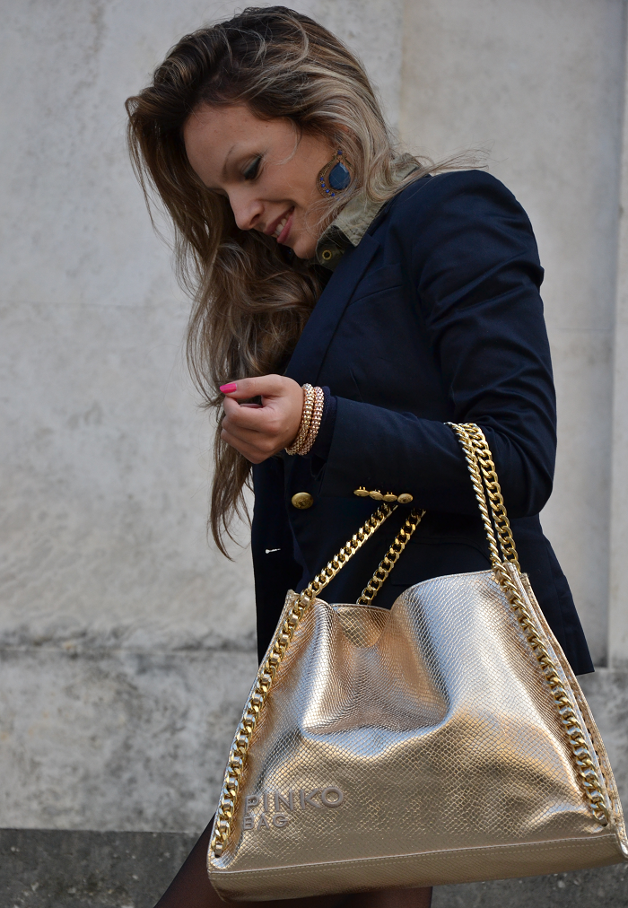Pinko bag and Jeffrey Campbell - It-girl by Eleonora Petrella