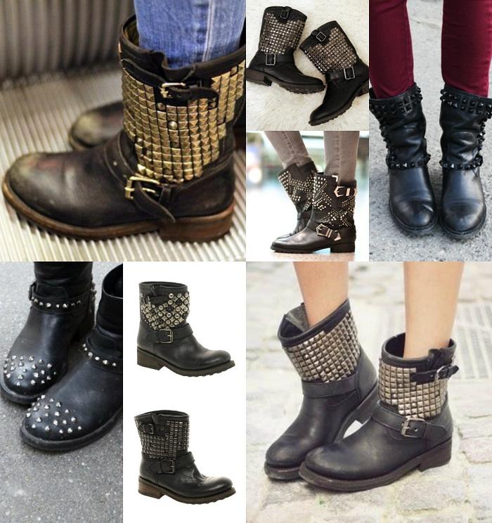 Biker boots - It-girl by Eleonora Petrella
