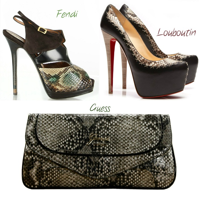 snake python trend F/W 2012-13 - It-girl by Eleonora Petrella