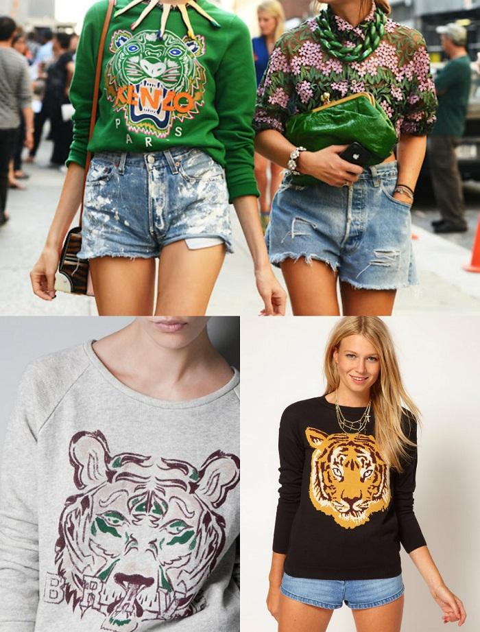 Glam sweaters fall 2012 - It-girl by Eleonora Petrella