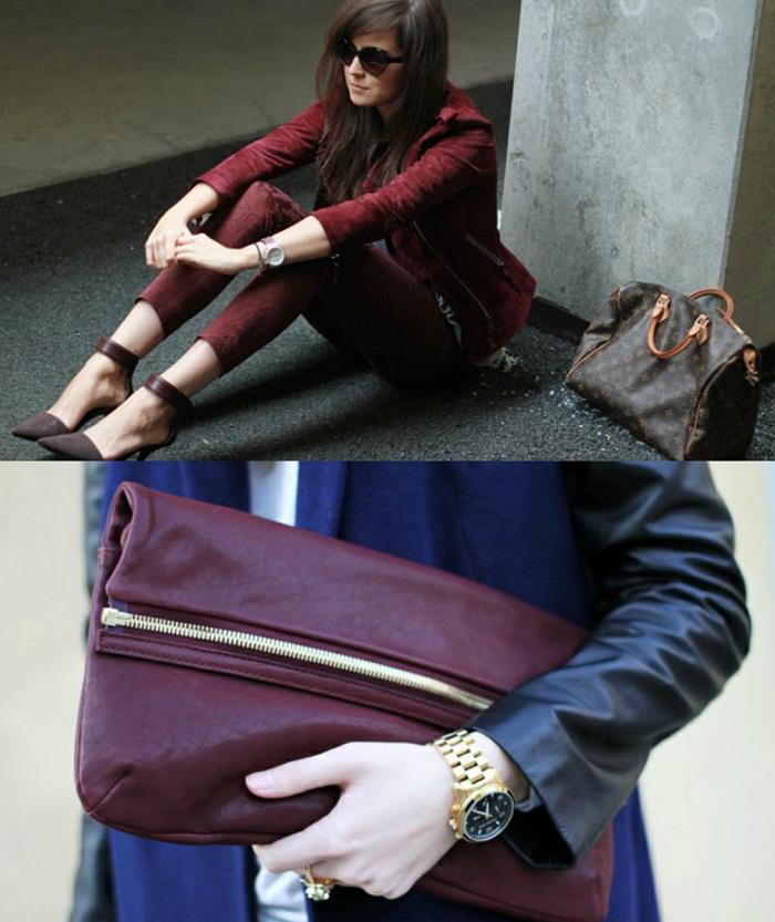 Burgundy oxblood trend F/W 2012-13 - It-girl by Eleonora Petrella