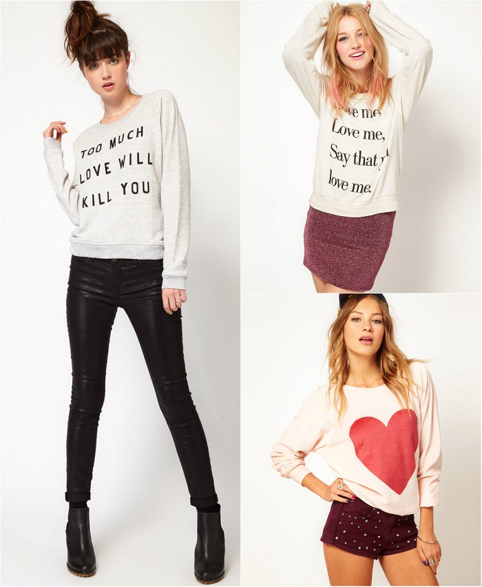 Glam sweaters fall 2012 - It-girl by Eleonora Petrella