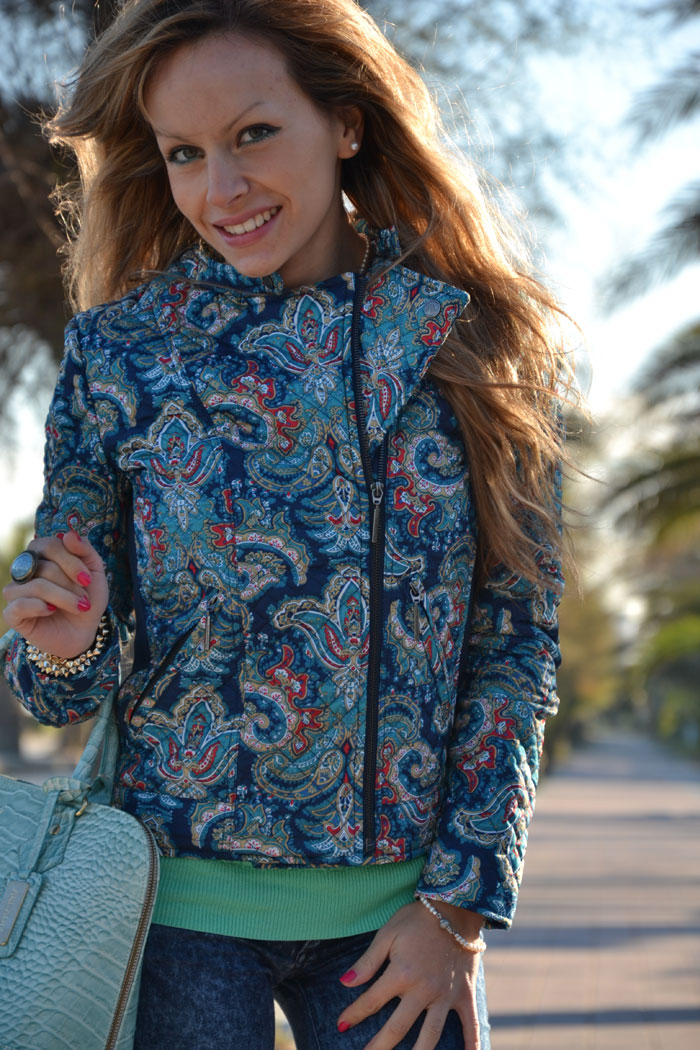 Stradivarius paisley jacket and Zara shoes - It-girl by Eleonora Petrella