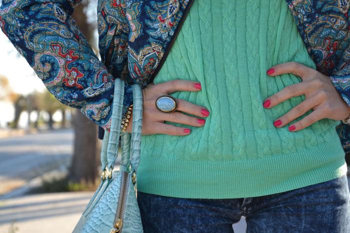 Stradivarius paisley jacket and Zara shoes - It-girl by Eleonora Petrella