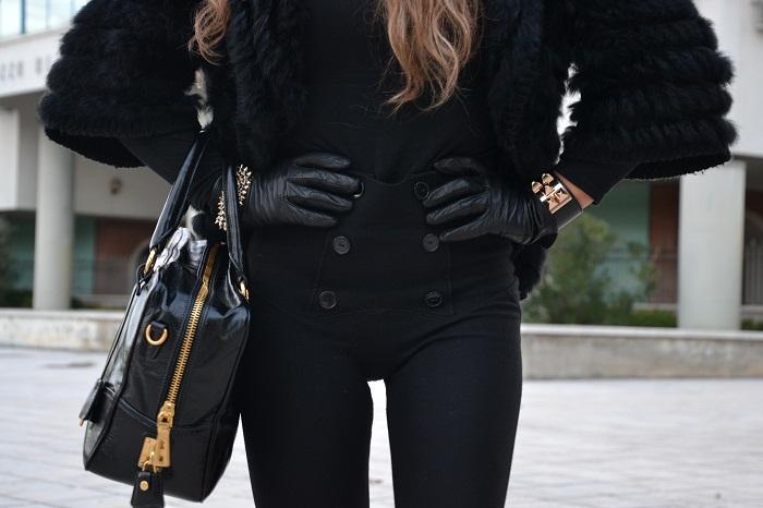 Prada bag and Jeffrey Campbell Lita - It-girl by Eleonora Petrella
