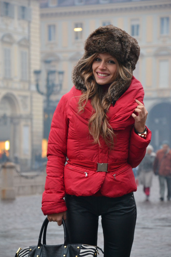 Pinko jacket and Timberland boots - It-girl by Eleonora Petrella