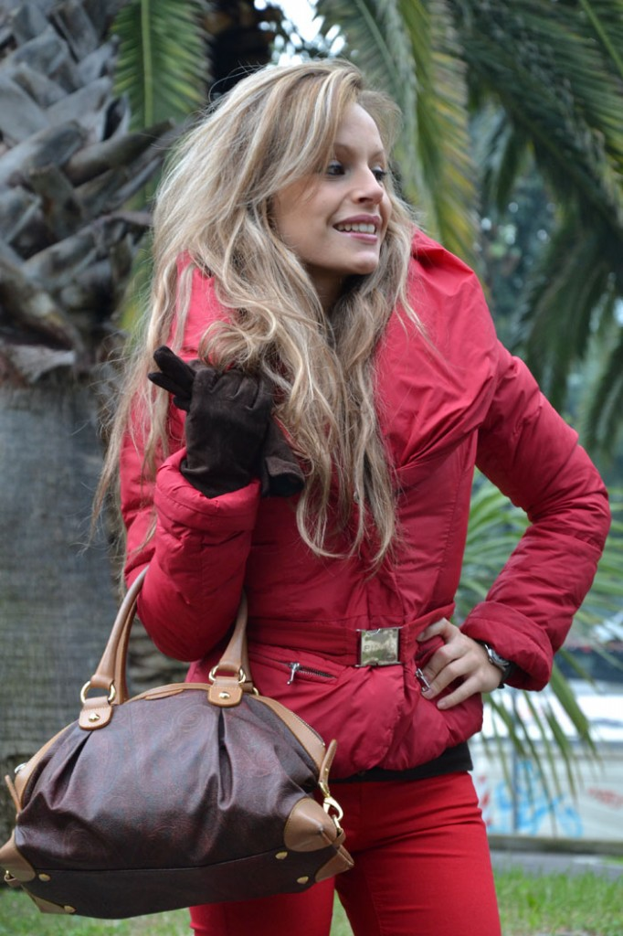 Pinko red passion jacket