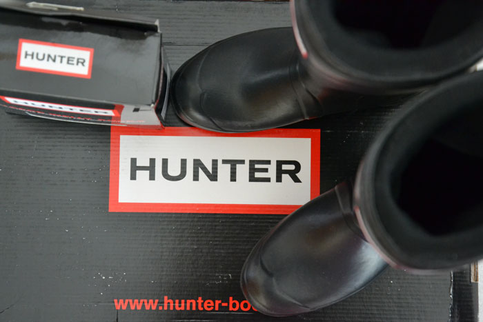 Hunter boots Original tour - It-girl by Eleonora Petrella