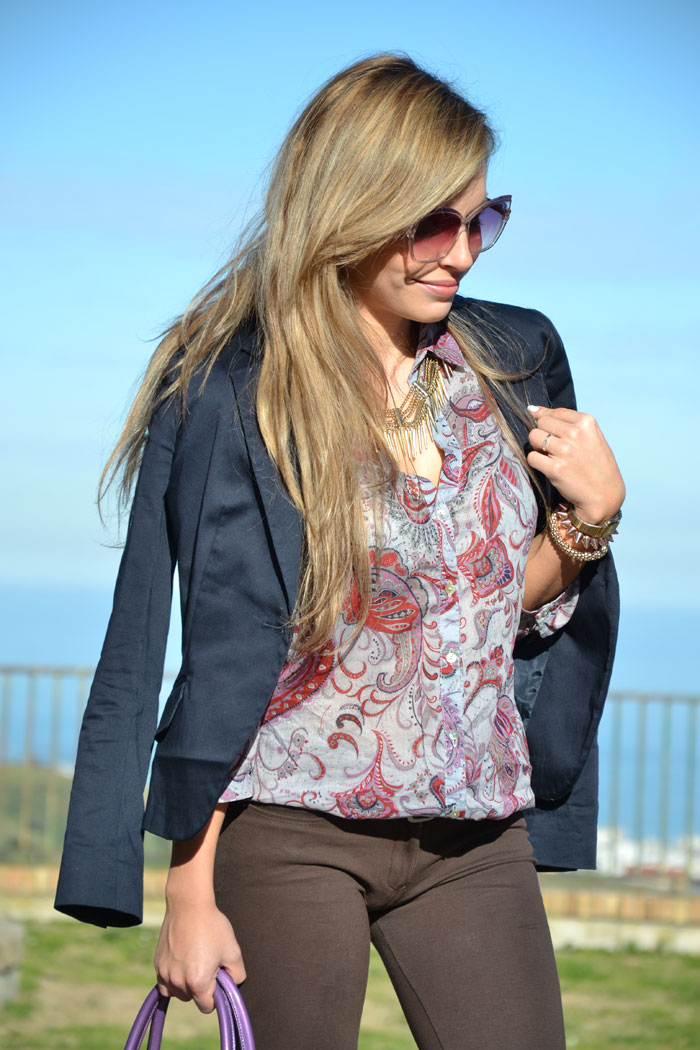 Baroque shirt and Lita Jeffrey Campbell - It-girl by Eleonora Petrella