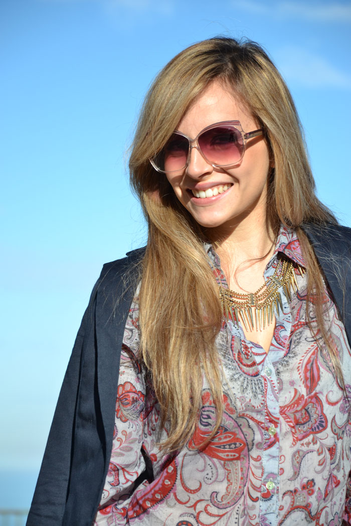 Baroque shirt and Lita Jeffrey Campbell - It-girl by Eleonora Petrella