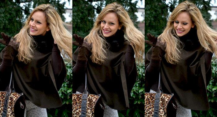 Leopard print and Jeffrey Campbell Lita - It-girl by Eleonora Petrella