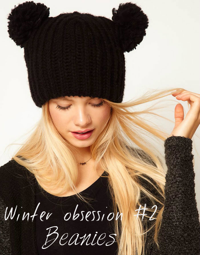 Winter 2012/13 obsession: beanies - It-girl by Eleonora Petrella
