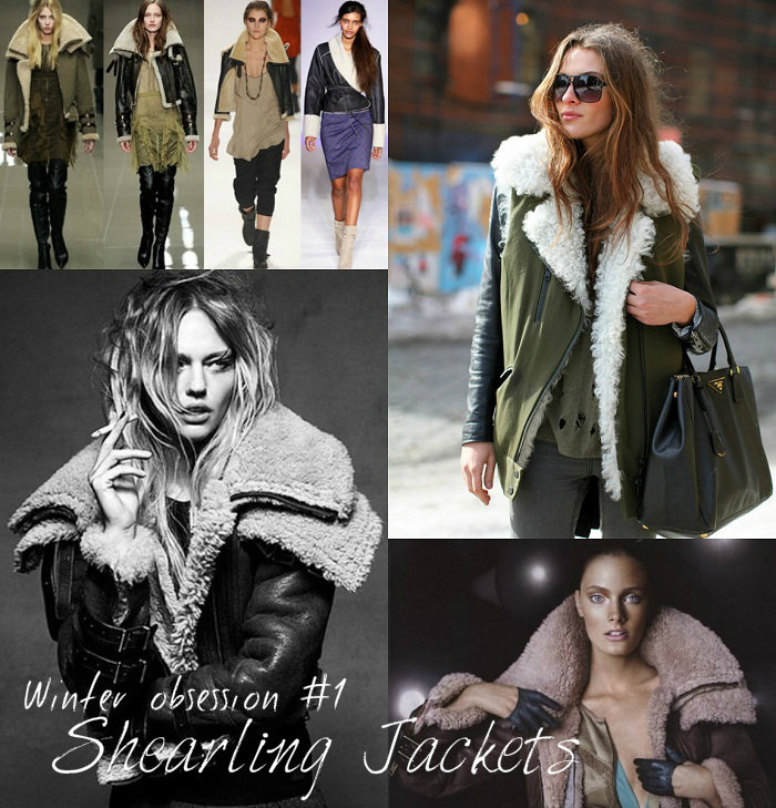 Shearling jackets and coats - It-Girl by Eleonora Petrella