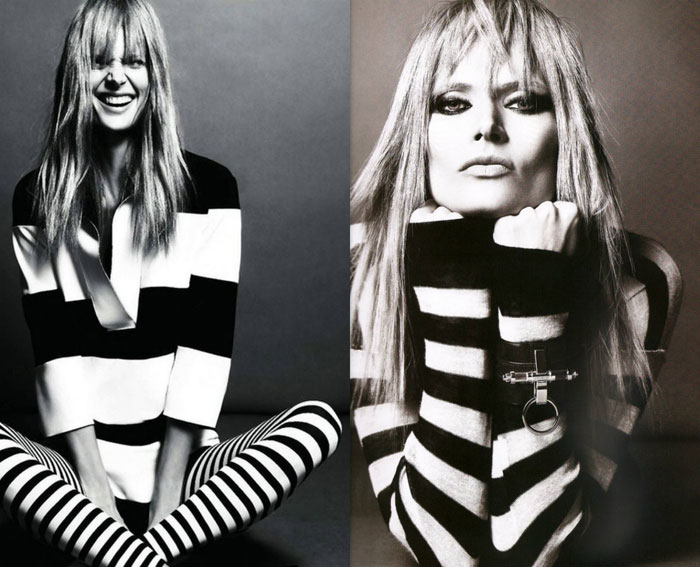 Black and white jail stripes trend S/S 2013 - It-Girl by Eleonora Petrella